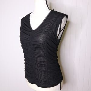 The Limited Semi Sheer Sleeveless Blouse Size M